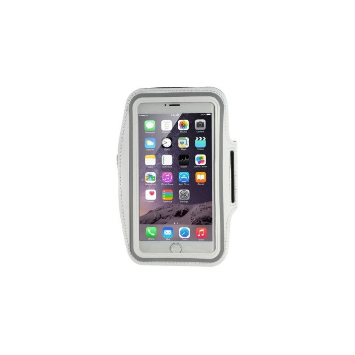 Brassard Sport iPhone 6S PLUS blanc néoprene