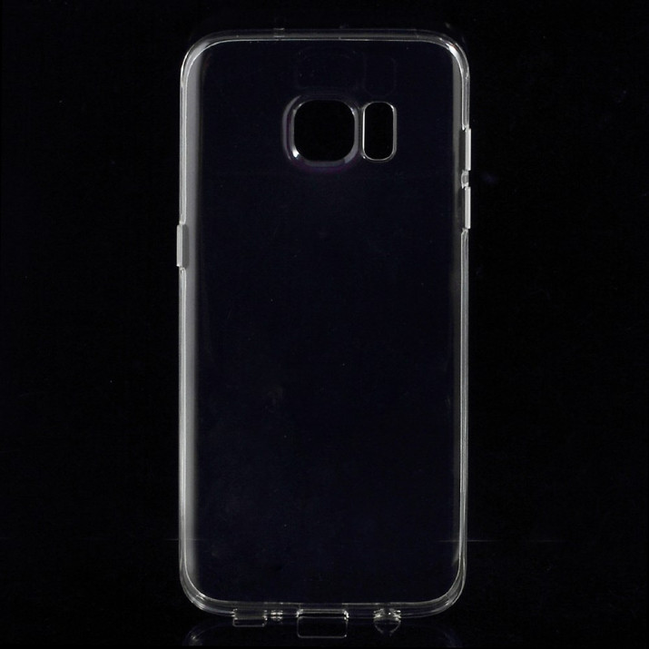 Coque souple pour Galaxy S7 EDGE transparente Ultra-fine