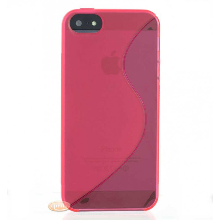 Coque souple Rose pour iPhone SE ultra-slim