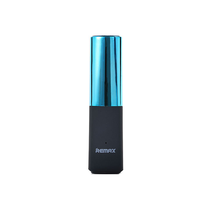 Batterie POWER BANK 2400mAh Rouge à Lèvre bleu universelle