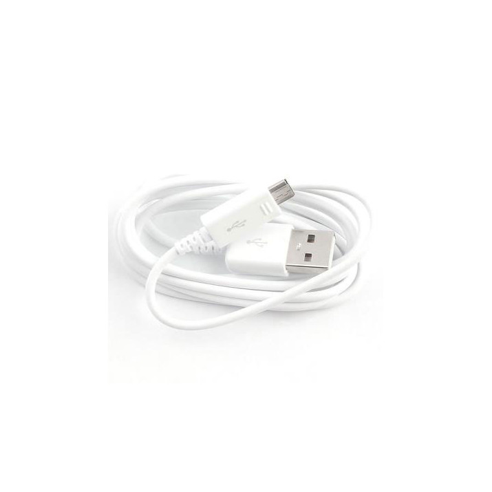 Cable blanc Samsung Data MICRO-USB longeur 120 cm reférence EP-DG925UWE