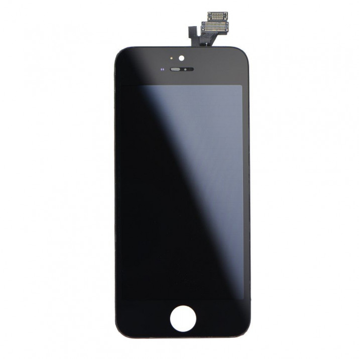 Ecran LCD tactile Noir pour Apple iPhone 5 + vis