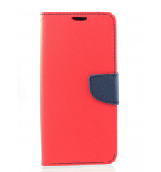 Housse pour SAMSUNG GALAXY S9+ rouge portefeuille
