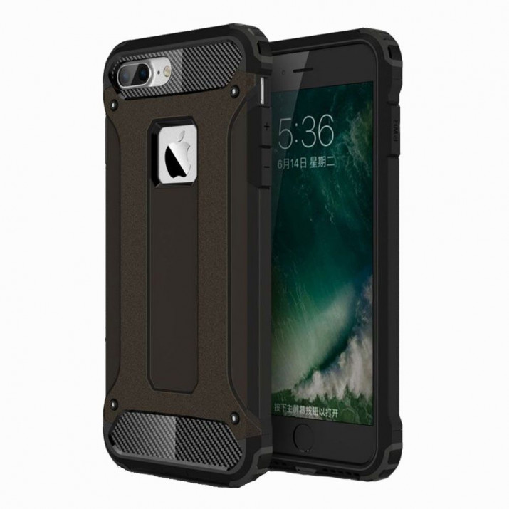 Bumper Noir pour iPhone 7 PLUS Anti-choc defense