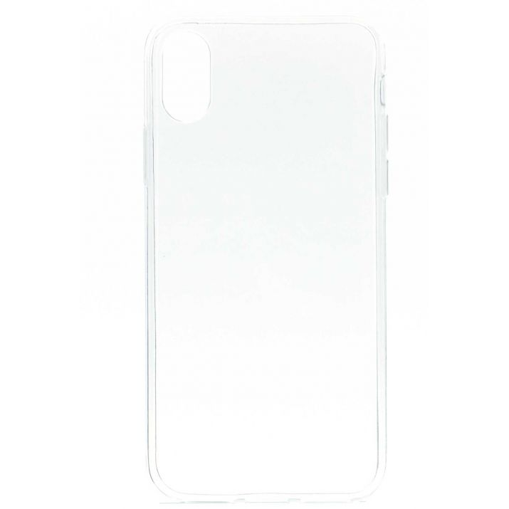 Coque souple pour iPhone X ou XS transparente Ultra fine