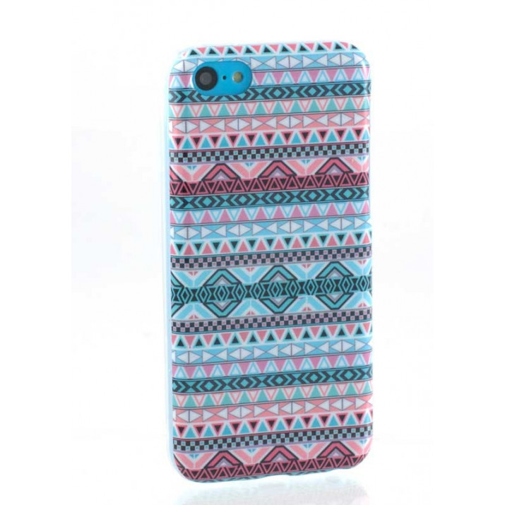 Coque souple Tribal Pastel pour iPhone 5C